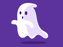 Motion Design fantome halloween graphiste vallet nantes clisson