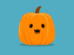 MotionDesign Citrouille halloween graphiste clisson