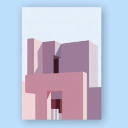 architecture-couleurs-illustration-affiche-cholet-nantes