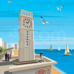 illustration-les-sables-olonne-affiche-poster-souvenir-vendee-zoom
